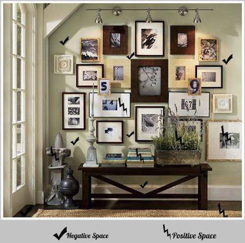 negative space interior design the