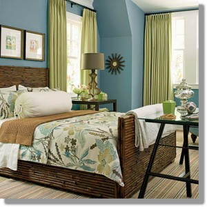 Today's Inspiration: Blue and Green Color Scheme