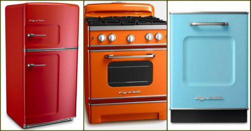 Liven Up Your Kitchen With Colored Appliances