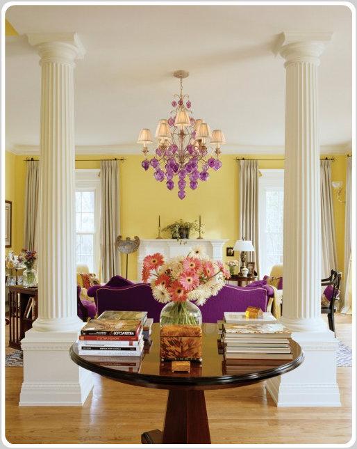 color psychology decorating with violet