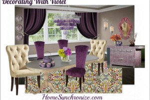 Color Psychology: Decorating With Violet