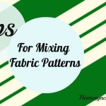 How to Mix Fabric Patterns with Confidence