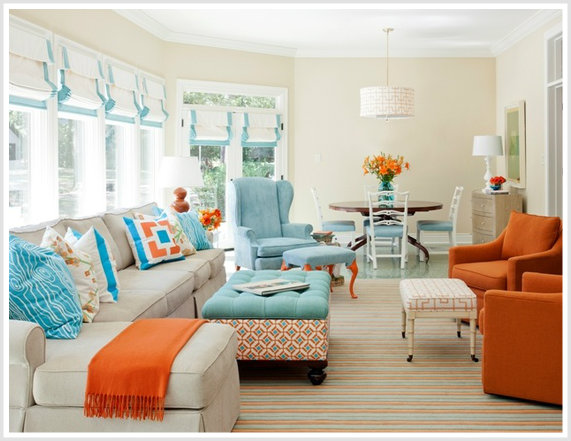 Tobi Fairley Better Homes And Gardens Split Complementary Color Scheme