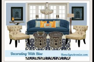 Color Psychology-Decorating With Blue