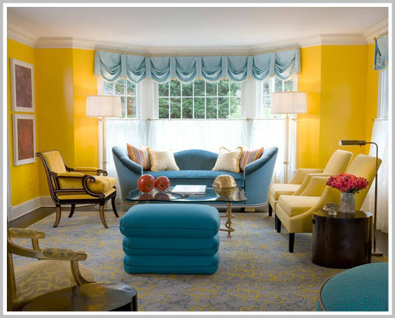 analogous color scheme room home design