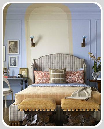 split complementary room home design