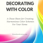 Decorating with Color-A Summary