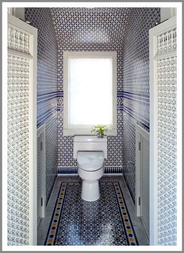 Moroccan Style Bathroom In Cape Cod Massachusetts