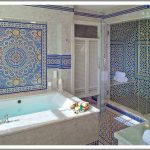Moroccan Style Bathroom In Cape Cod, Massachusetts