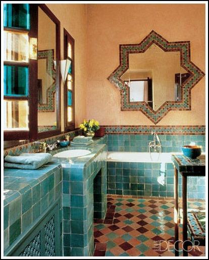 6 gorgeous arabic style mirrors - Moroccan bathroom ...