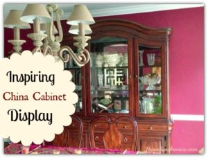 Who Says A China Cabinet Should Display China?