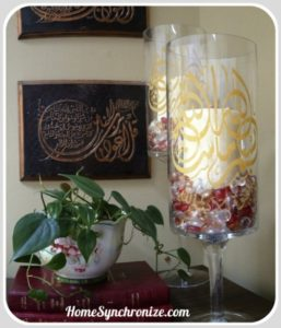 How To Decorate With Islamic Calligraphy Stencils & Decals
