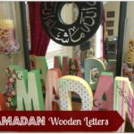 Decorating For Ramadan: Wooden Letters