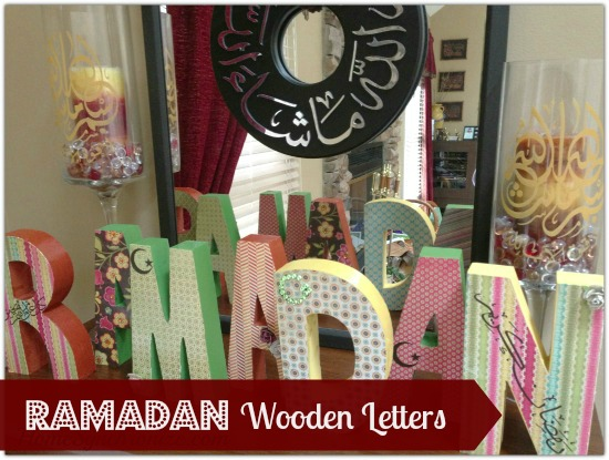 how to decorate your home for ramadan decorating for ramadan wooden letters 13656