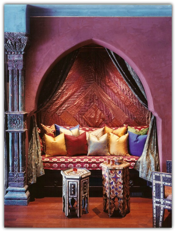 Islamic style nook 4