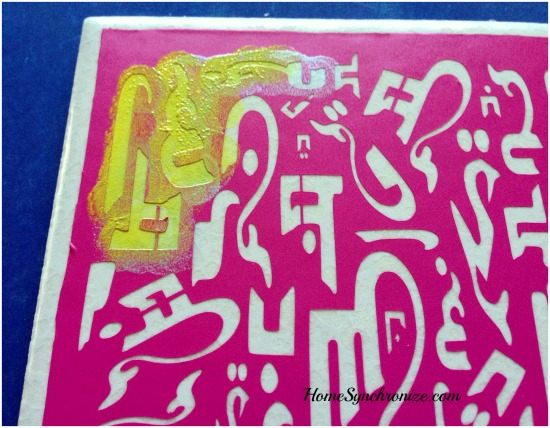 arabic alphabets stencil 4