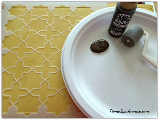 DIY Lamp shade 6