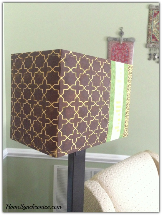 DIY lamp shade 10