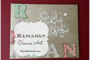 Ramadan Canvas Wall Art in 10 Easy Steps