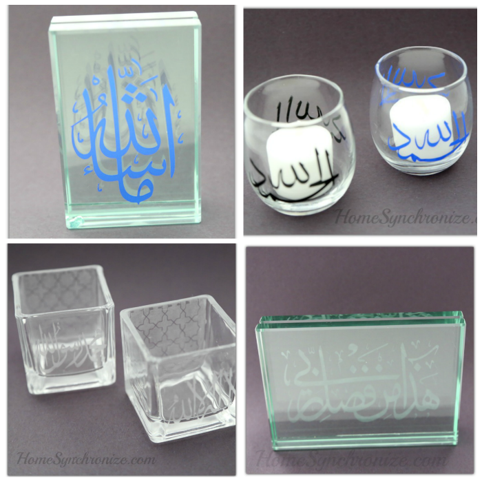Etched glass products