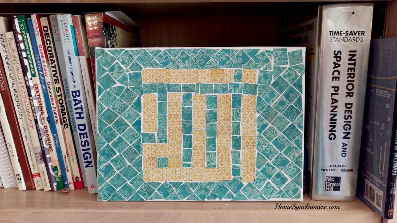 Islamic mosaic art