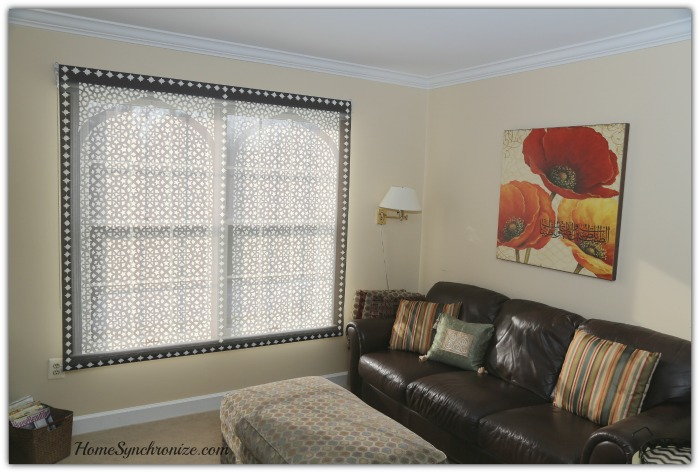Arabic Window Shade
