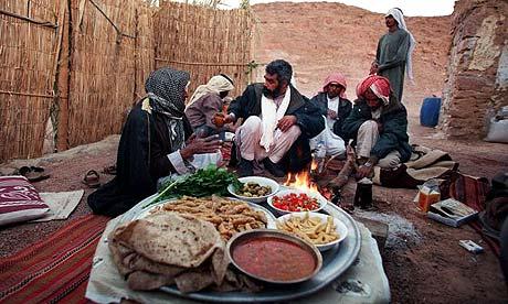 Tarrabin Bedouin hospitality