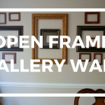 Open Frame Gallery Wall {One Simple Layout Idea}