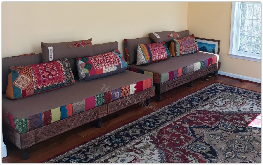 Here Is An Example By Barjis Design Of A Modern Interpretation Of Floor  Seating Inspired By Traditional Palestinian Embroidery (my Favorite).